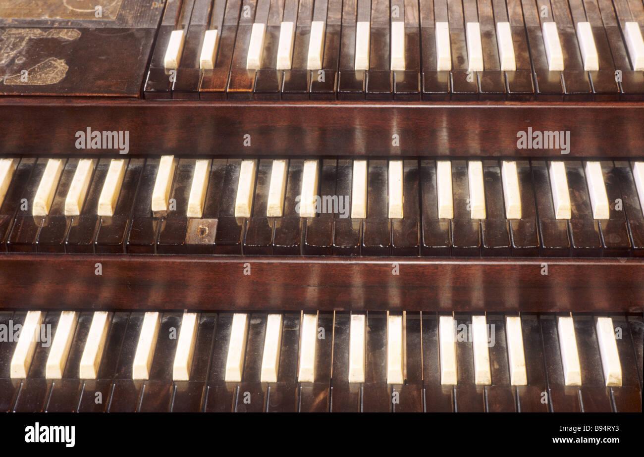 Handel's Keyboard Thomas Coram Foundation Bloomsbury London England UK George Frederick Handel 18th century - Stock Image