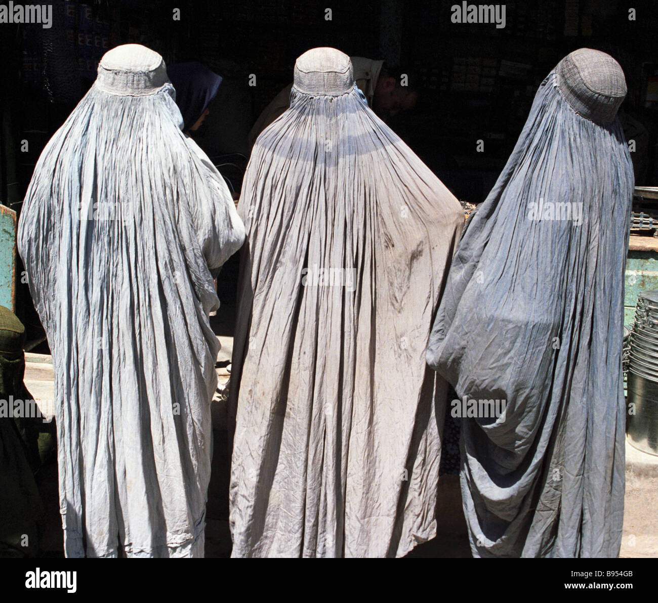 Women of Herat Afghanistan - Stock Image