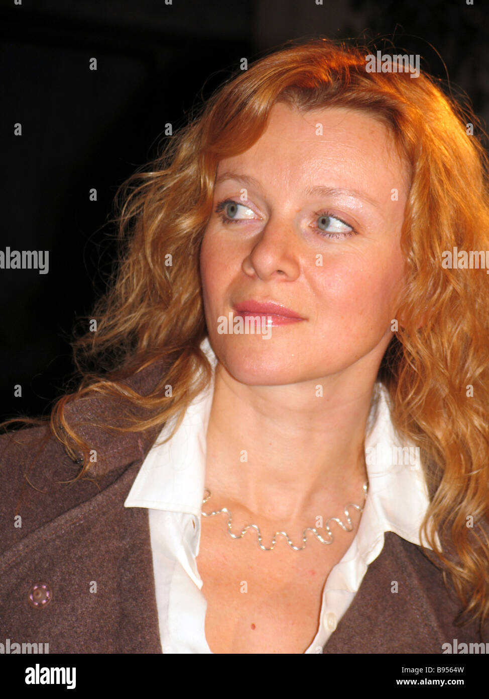 Anna Terekhova stage and film star appeared as Nina Zarechnaya in the film The Seagull after Anton Chekhov s play - Stock Image