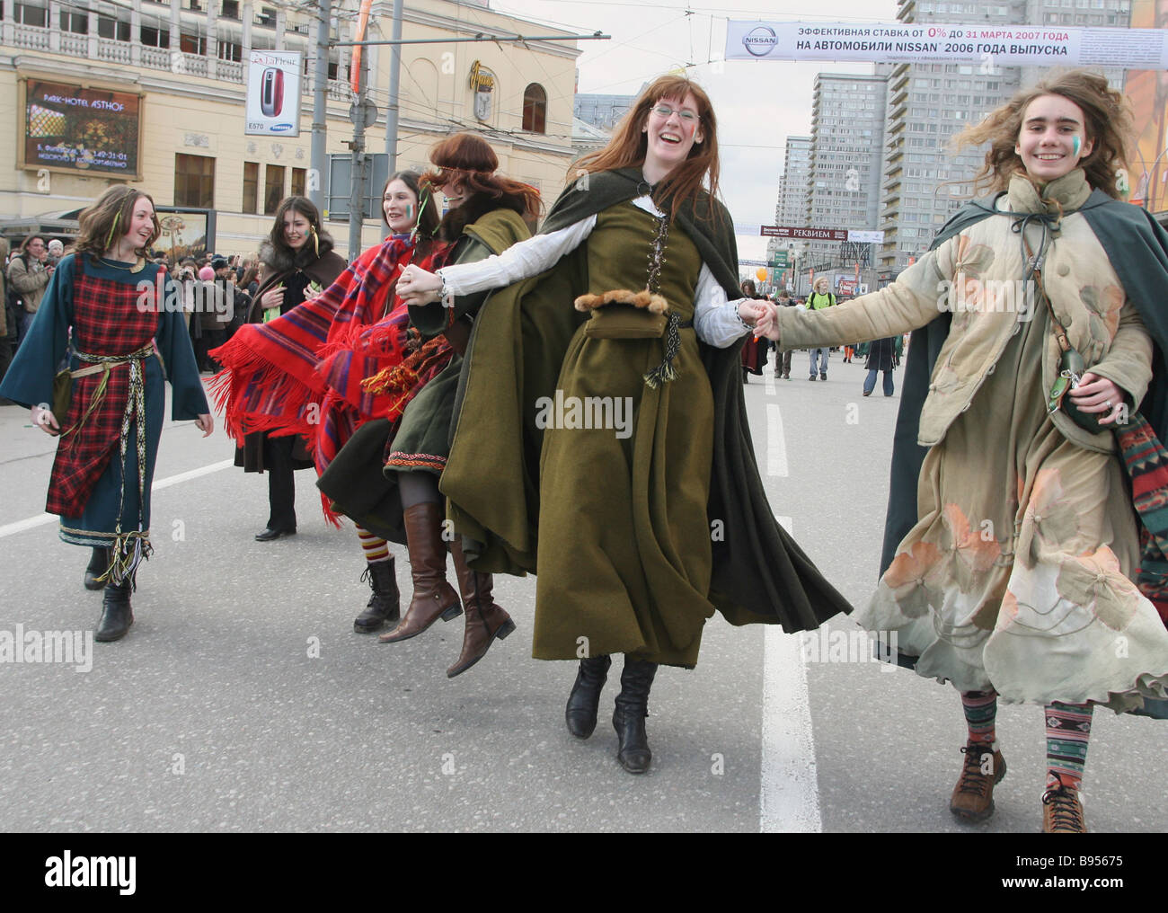 Ireland in Moscow - Parade of St. Patrick 2017 29