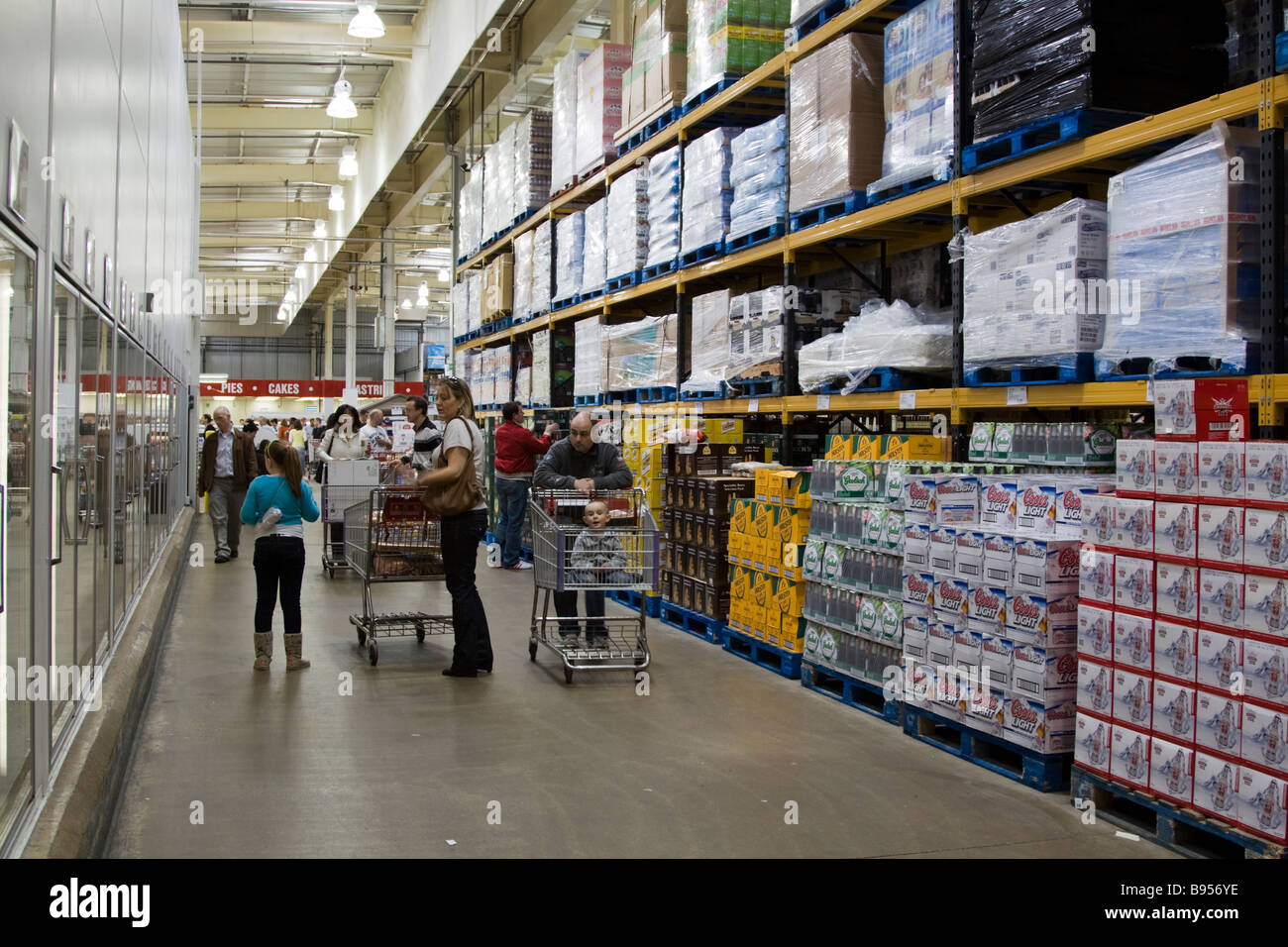 Costco Warehouse - Watford - Hertfordshire - Stock Image