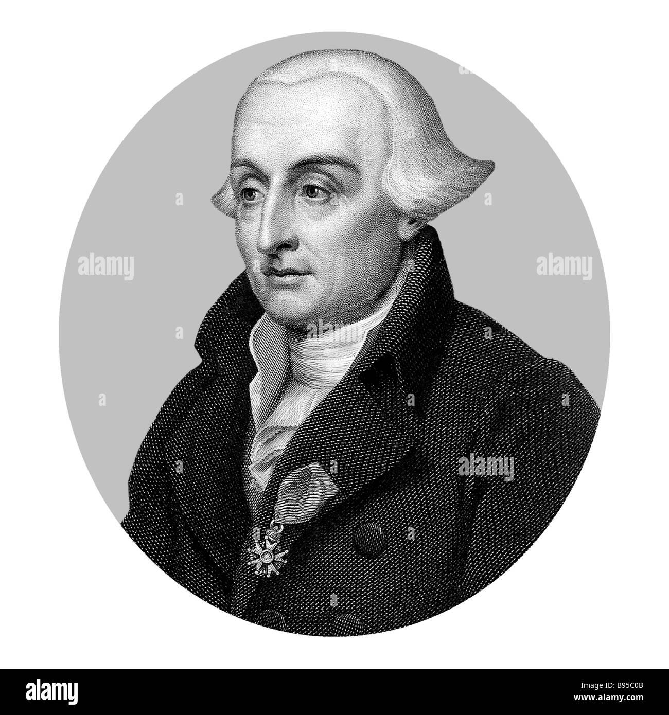Joseph Louis Comte de Lagrange 1736 1813 Italian born French Mathematician