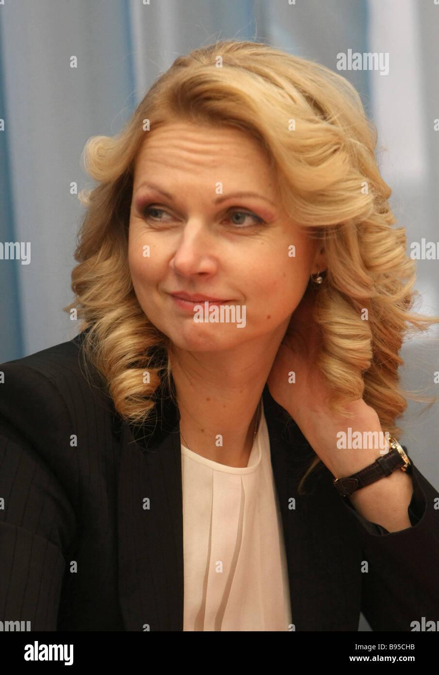 Tatyana Golikova now 8