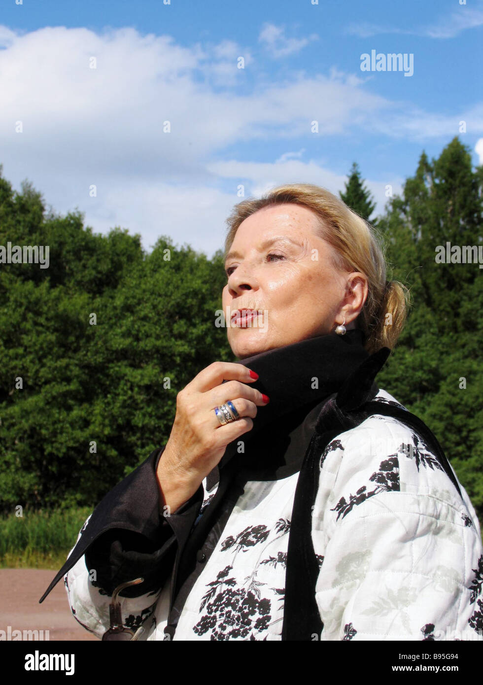 Actress Alla Demidova was admitted to the hospital 03/27/2015 29