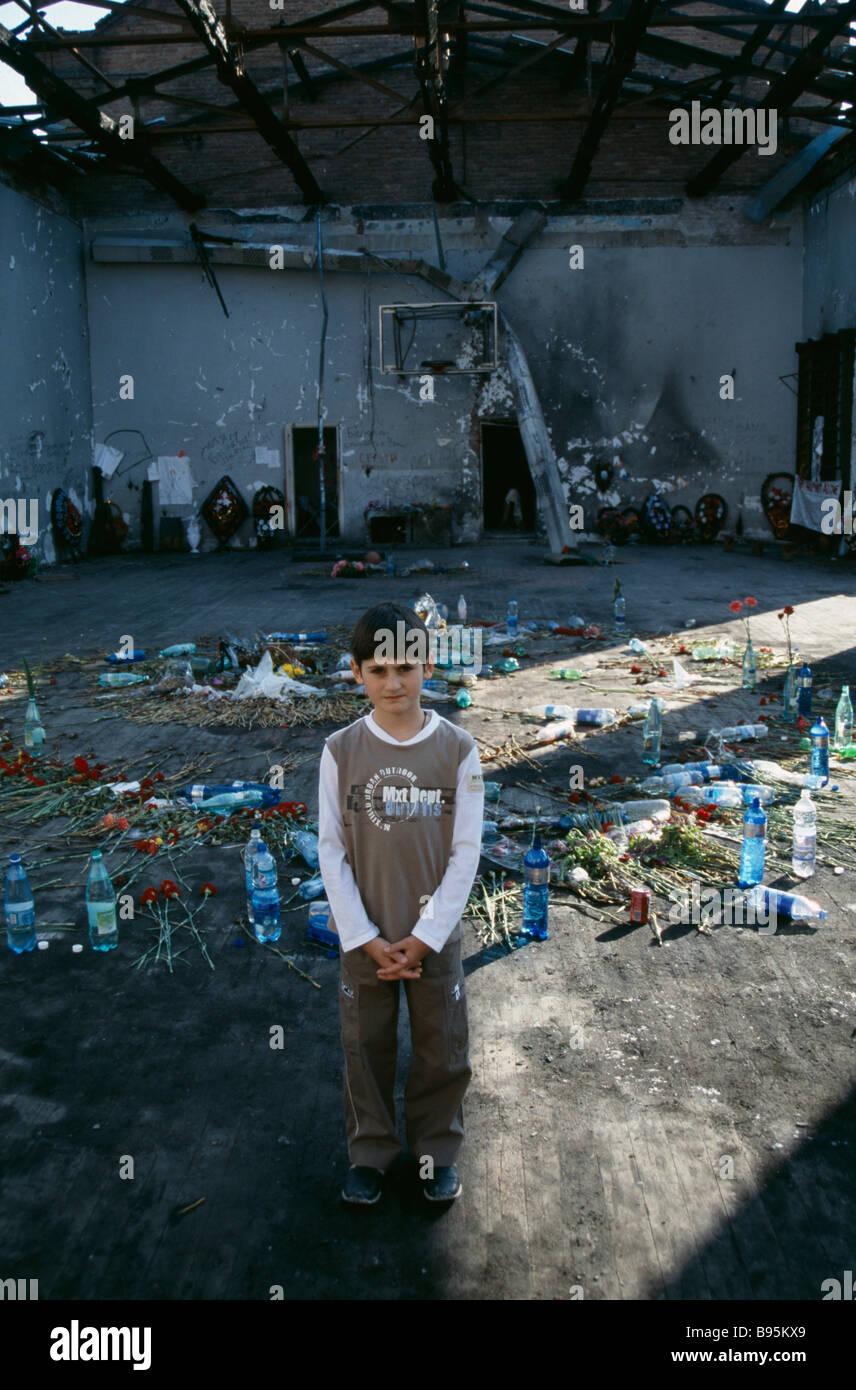 RUSSIA South Beslan - Stock Image