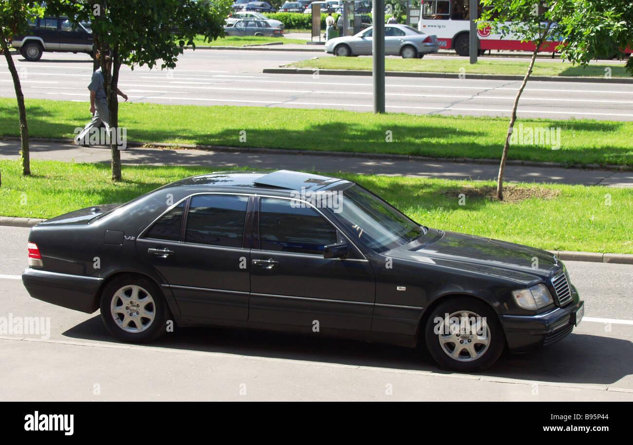 Mercedes 600 - Stock Image