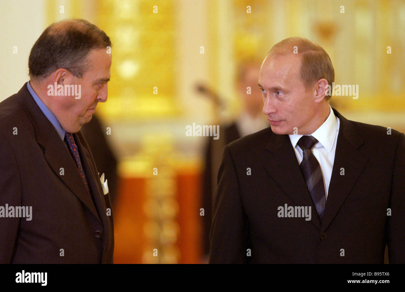 Several countries diplomatic mission heads presented their credentials to Russia s President Vladimir Putin in the - Stock Image