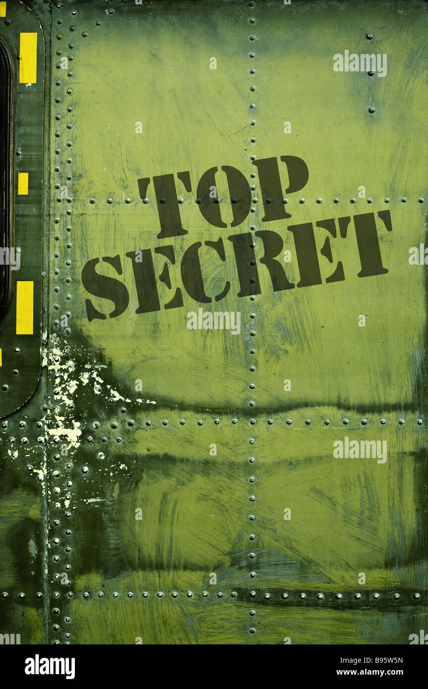 Top secret - Stock Image
