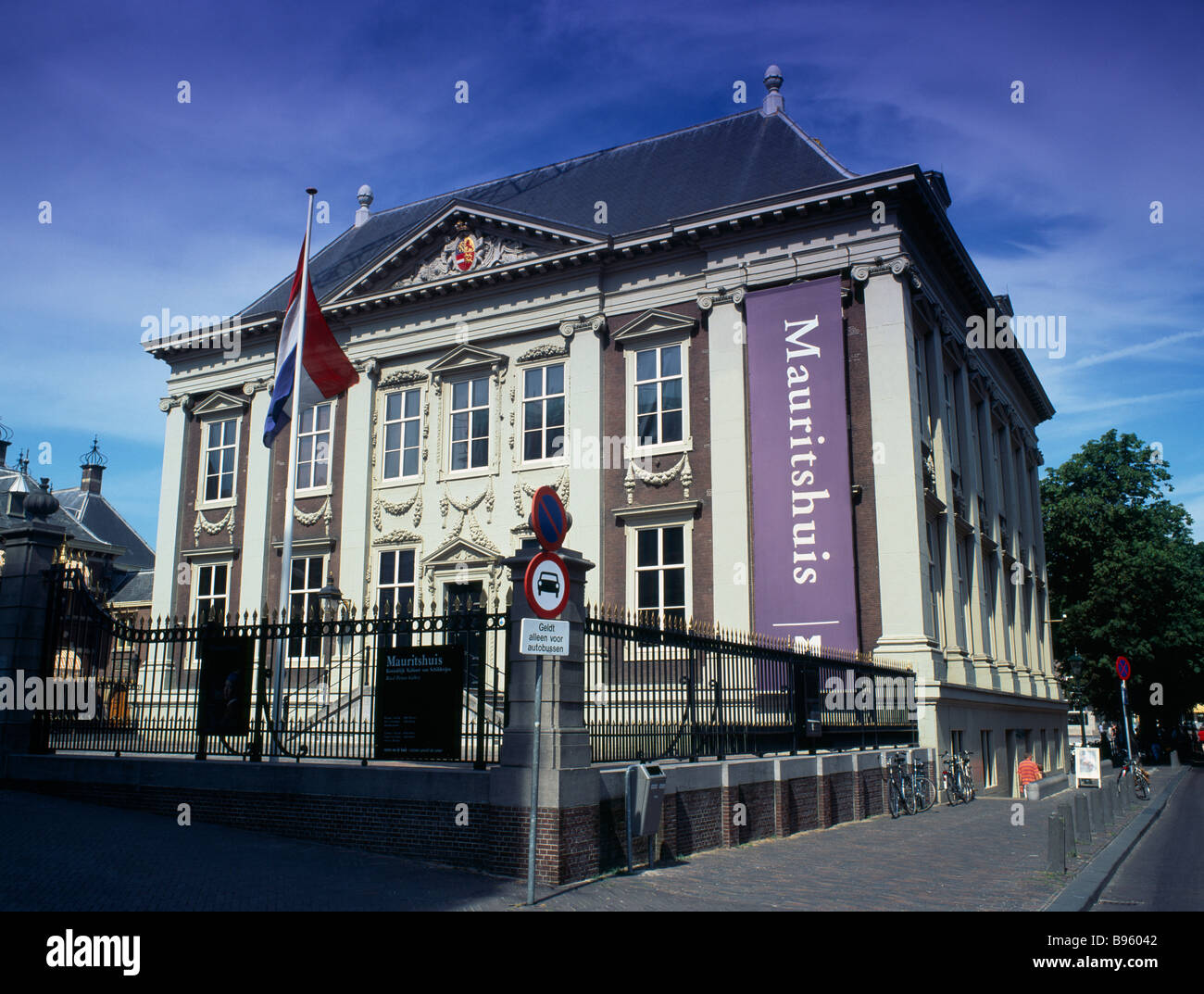 Holland south the hague mauritshuis art gallery building