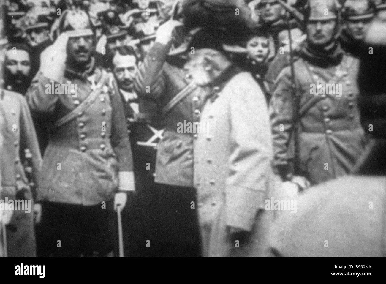 Emperor Franz Joseph of Austro Hungary - Stock Image