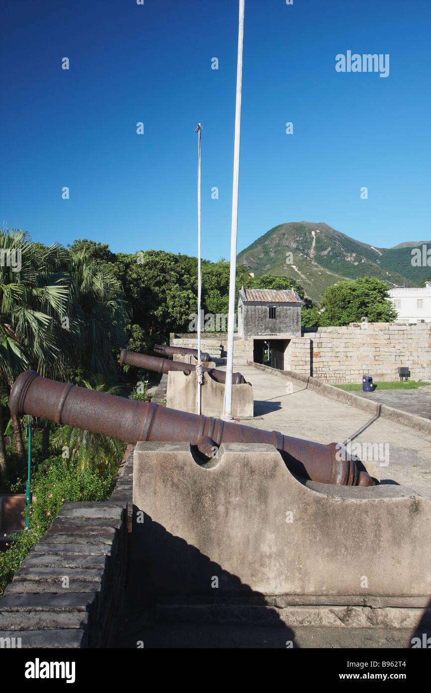 Tung Chung Fort, Lantau, Hong Kong - Stock Image