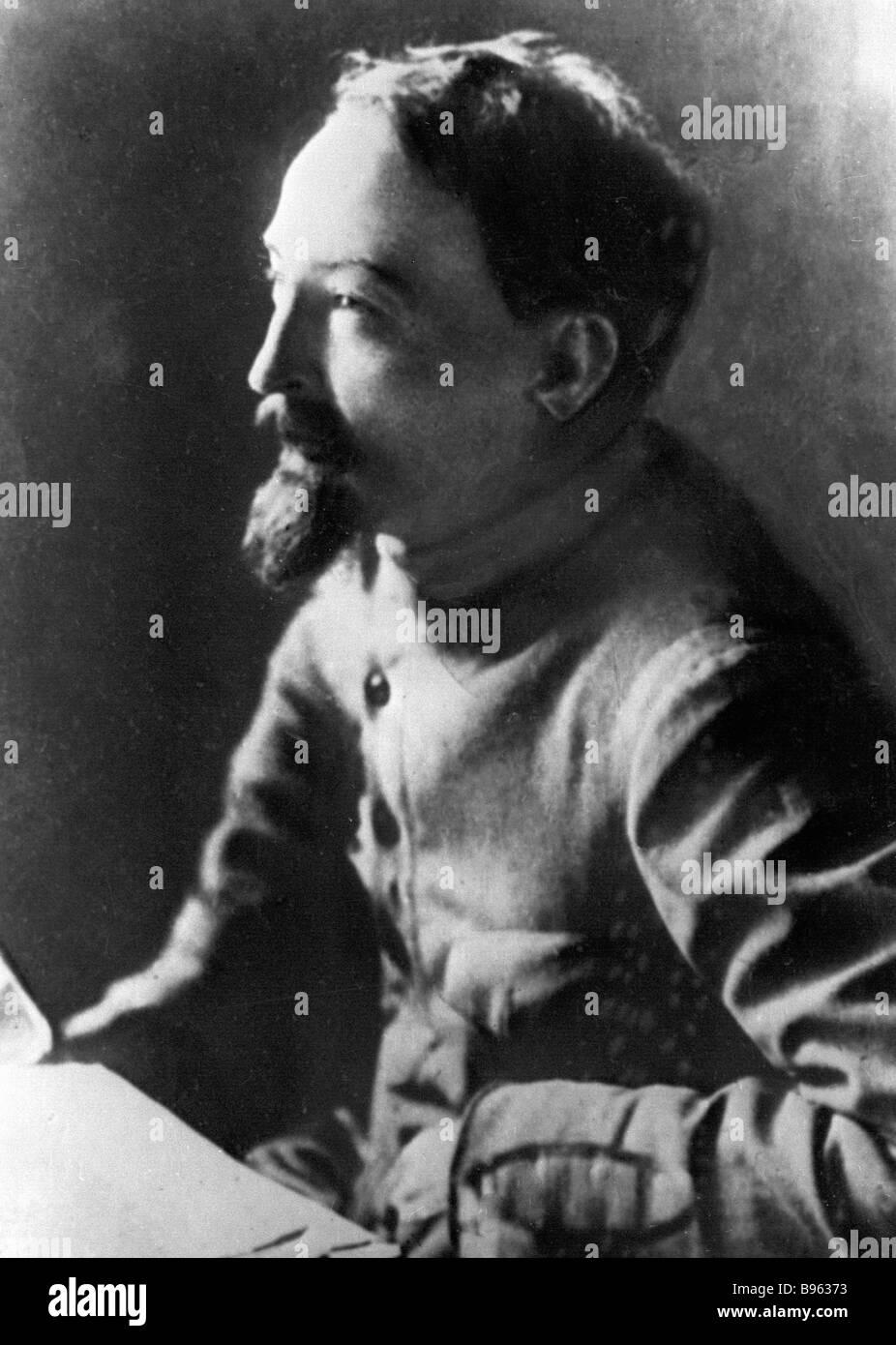 Felix Dzerzhinsky Cheka OGPU chief - Stock Image