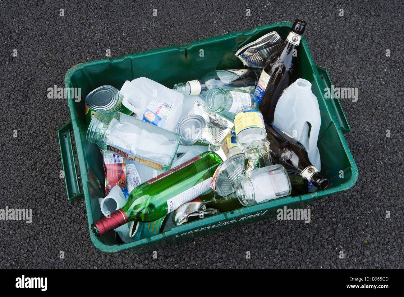Recycle box - Stock Image