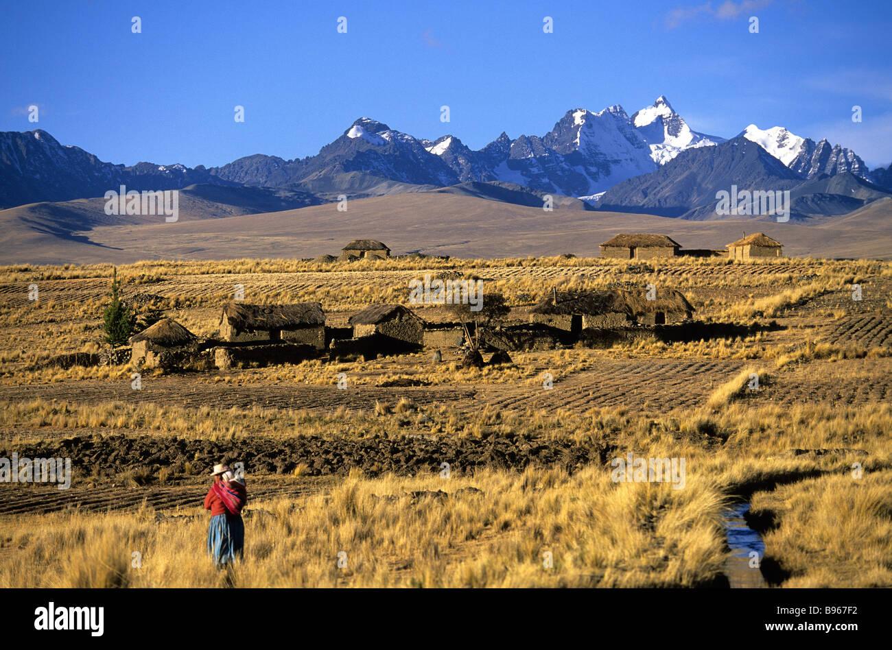 Bolivia, Real Cordillera - Stock Image
