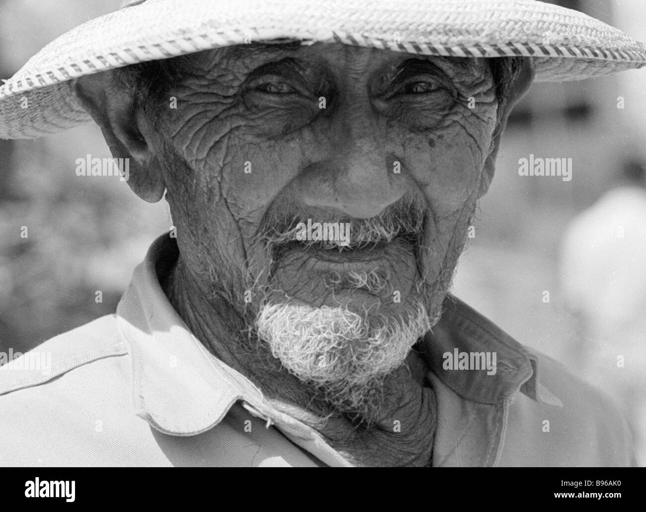 Venezuelan peasant - Stock Image