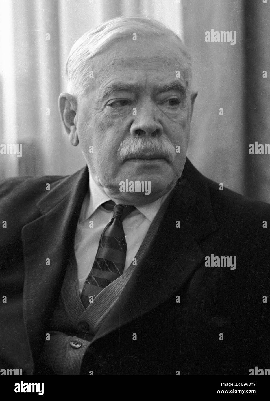 Soviet statesman and party figure Andrei Andreyev - Stock Image