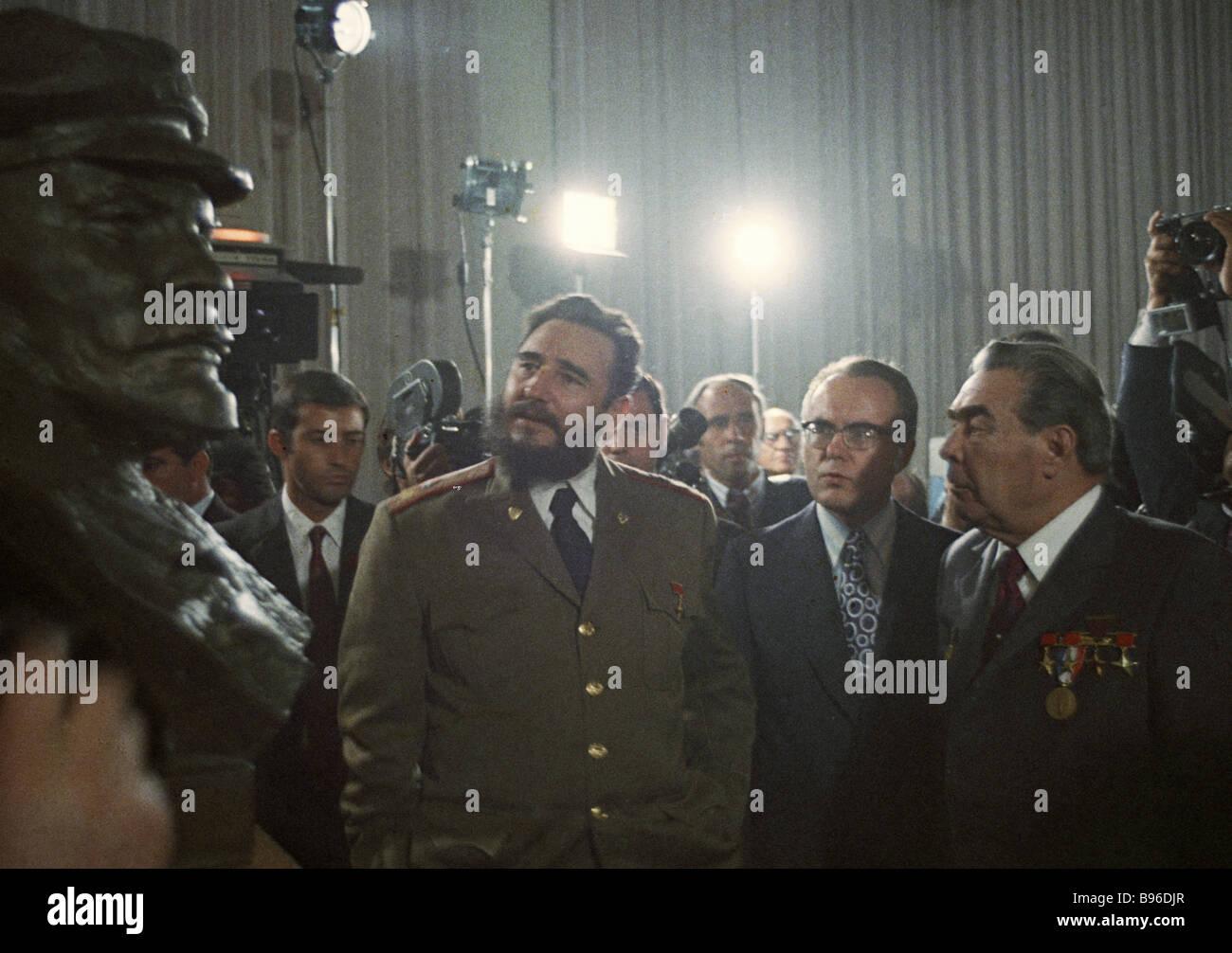 Leonid Brezhnev: funeral, date, photo