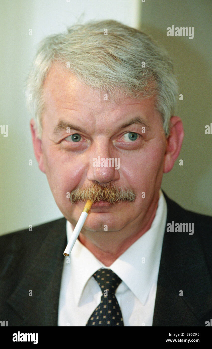 Sergei Rogov D Sc History Corresponding Member of the Russian Academy of Sciences Director of the Institute of the - Stock Image