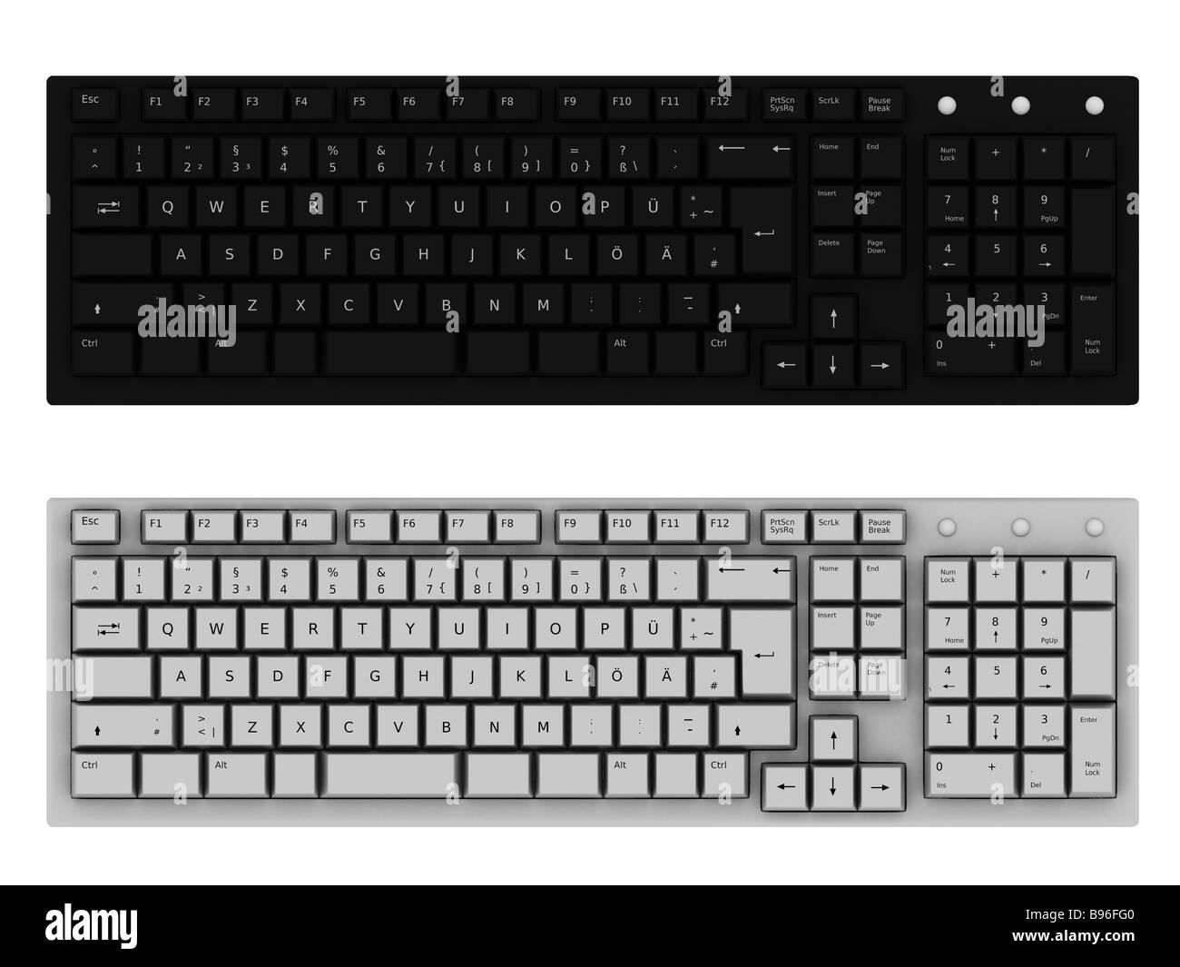 keyboard - Stock Image