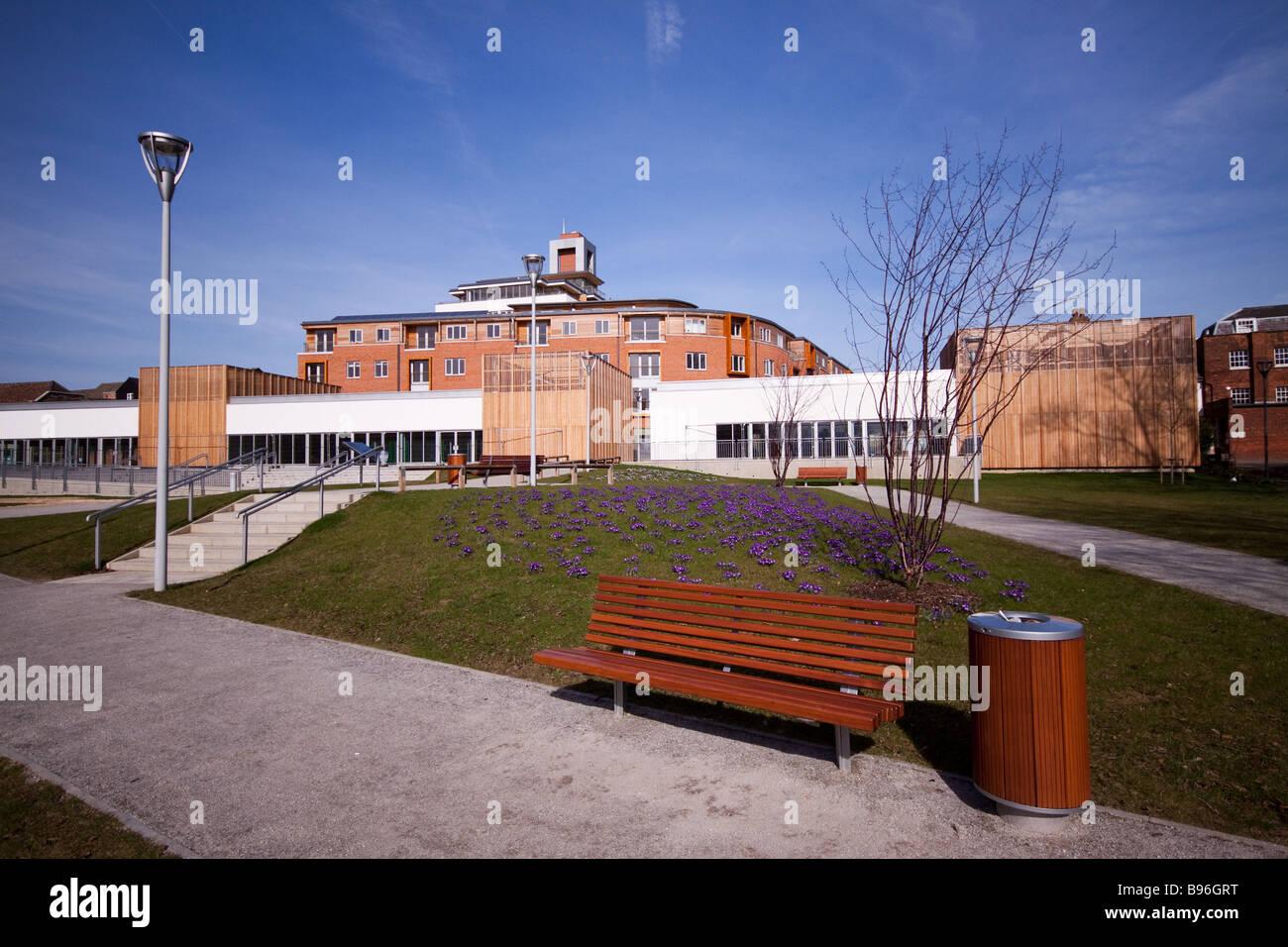 Castle Quay Development - Stock Image
