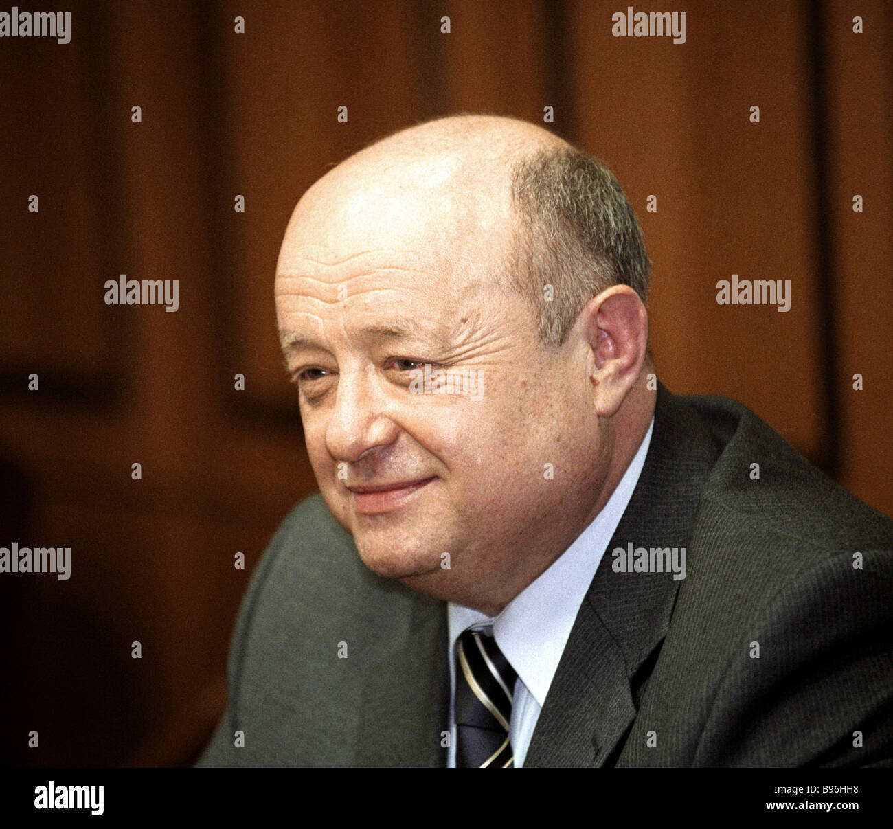 Mikhail Fradkov as Russian prime ministerial nominee 2004 - Stock Image