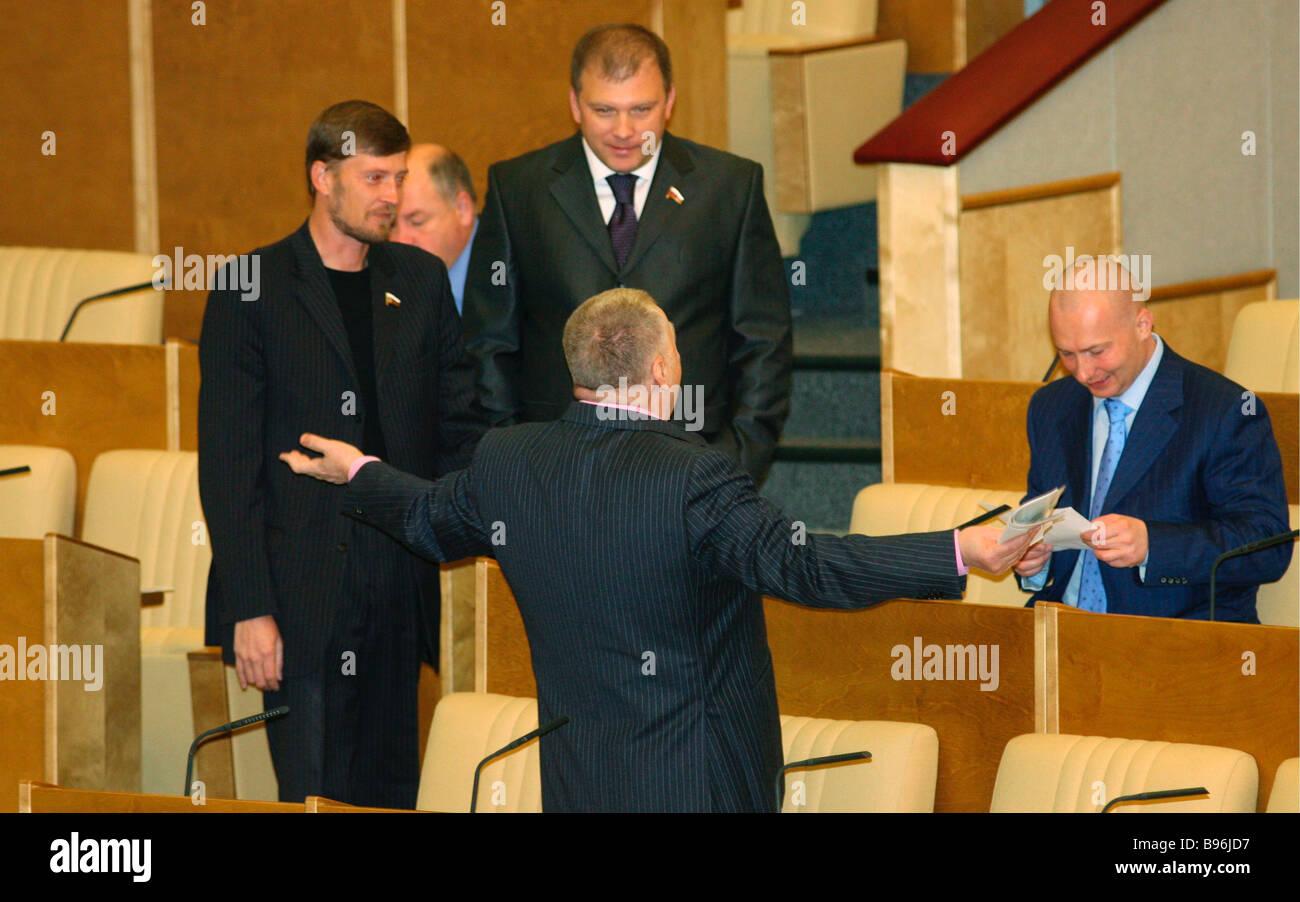 Patriarch Kirill and Vladimir Zhirinovsky received a galosh 19.06.2012 85