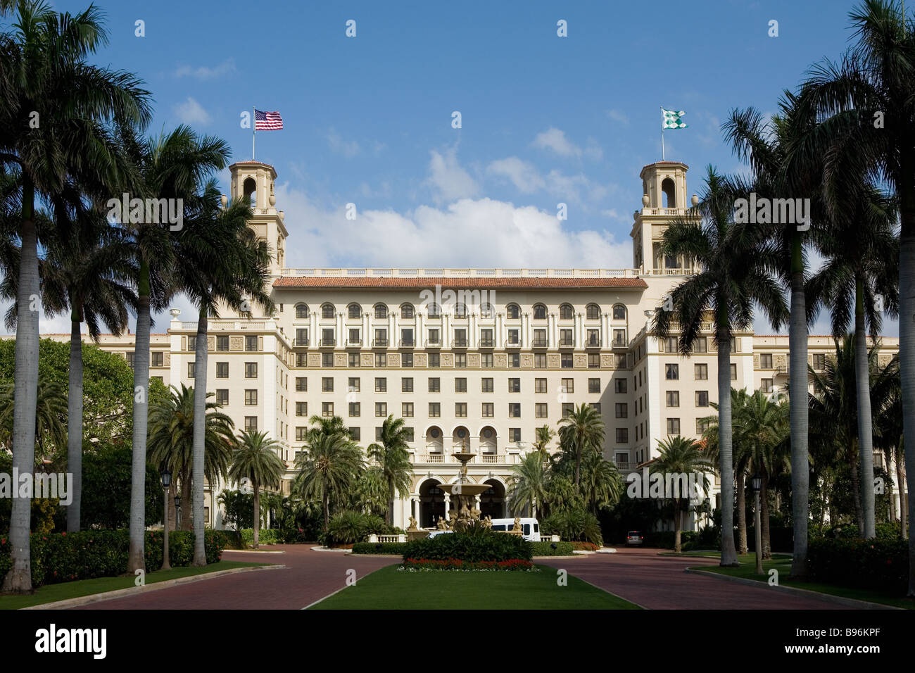 The Breakers luxury hotel West Palm Beach Florida - Stock Image