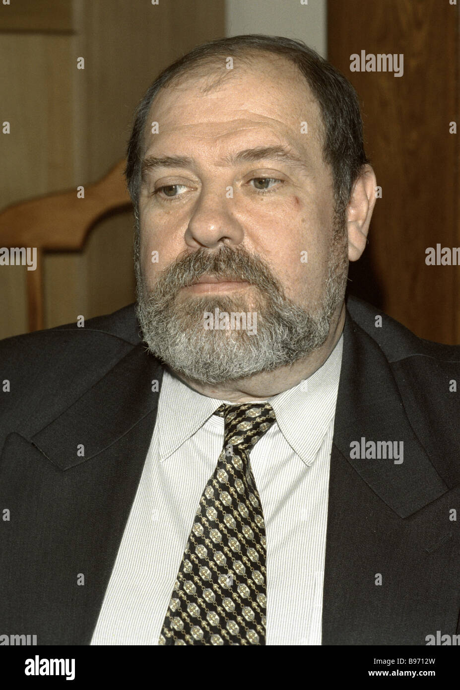 Konstantin Provalov Russian ambassador in Estonia - Stock Image