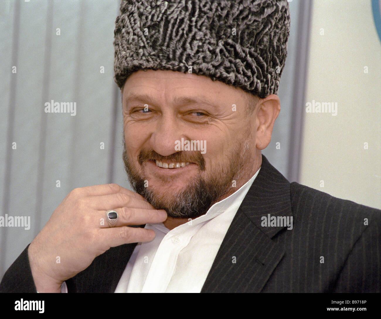 Chechen mufti Akhmad Kadyrov - Stock Image