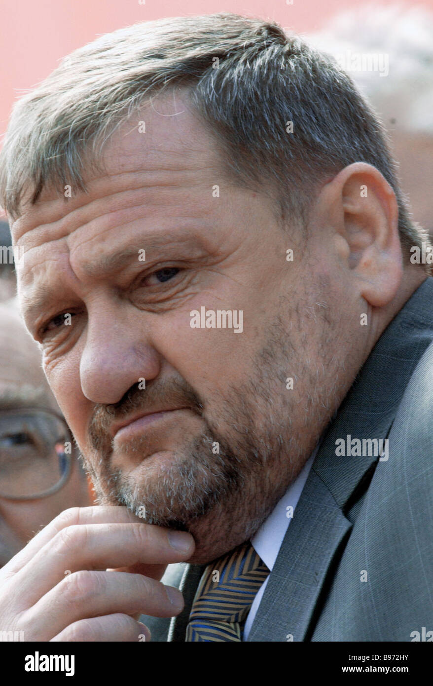 Chechnya s President Ahmad Kadyrov died in a terror act in Grozny - Stock Image