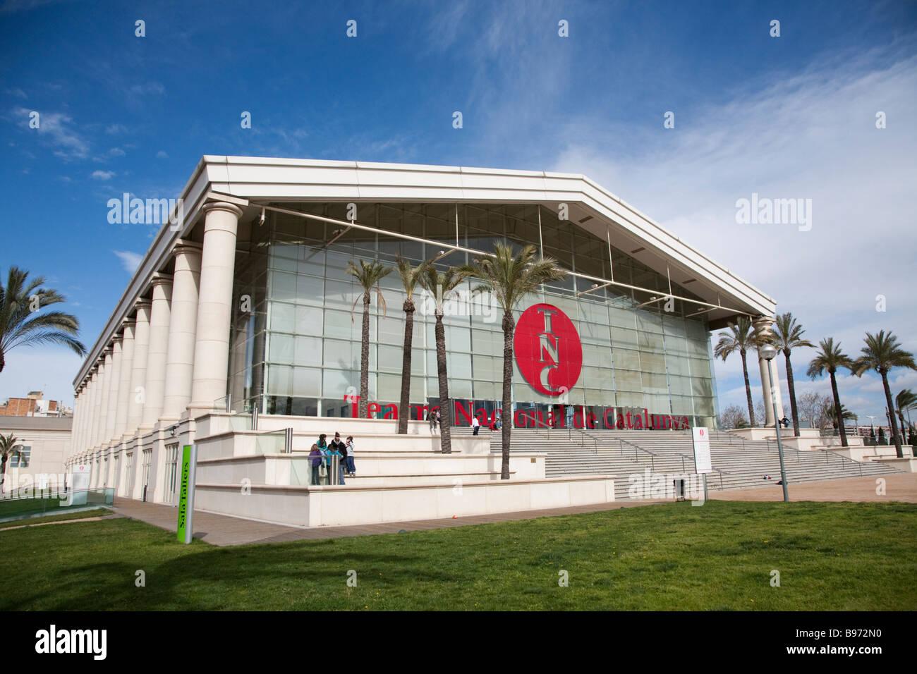 Teatre Nacional de Catalunya Barcelona Spain - Stock Image