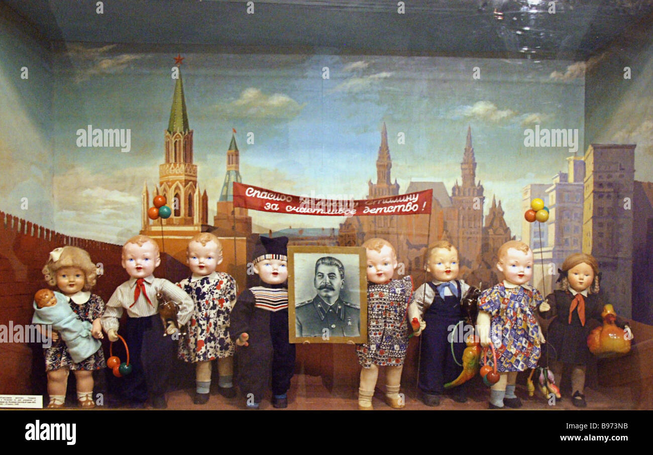 The Exhibition Joseph Stalin The Man And The Symbol Was Held At The