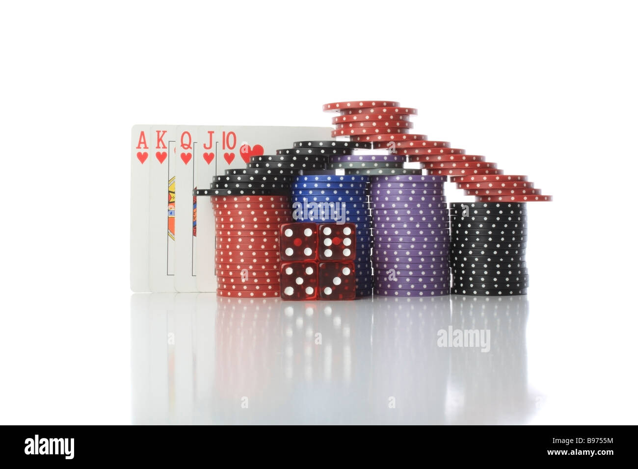House of Poker - Stock Image