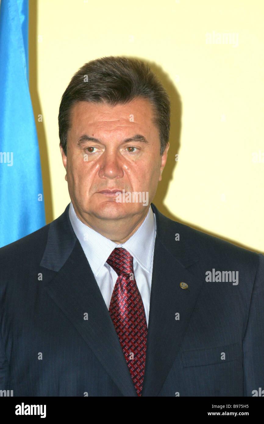 Ukrainian Prime Minister Viktor Yanukovich - Stock Image