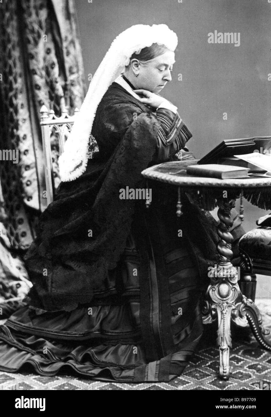 QUEEN VICTORIA in 1885 - Stock Image