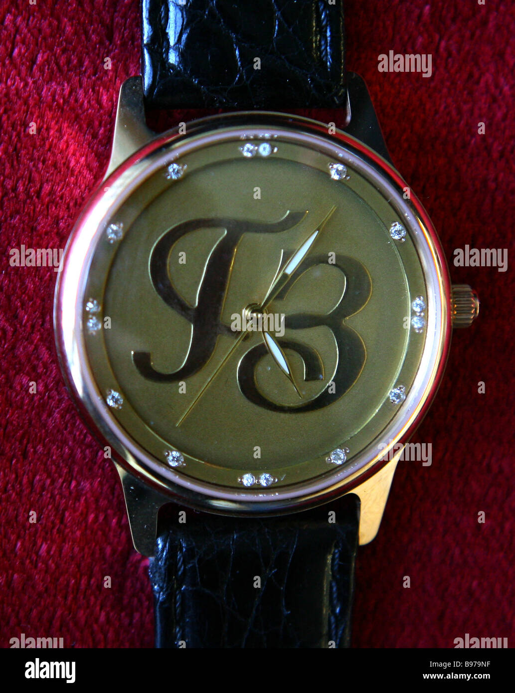 An exclusive watch made at the Moscow Goznak Mint - Stock Image