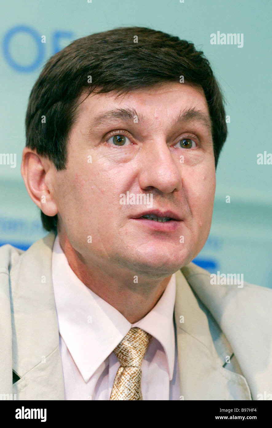 Vladimir Kuznetsov D Sc Physics director of the Institute of Earth Magnetism and the Spread of Radio Waves of the - Stock Image