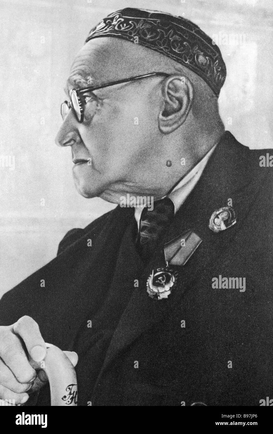 Academician bacteriologist Nikolai Gamaleya - Stock Image