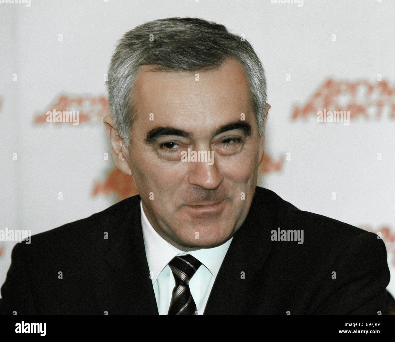 Ingush president Murat Zyazikov - Stock Image