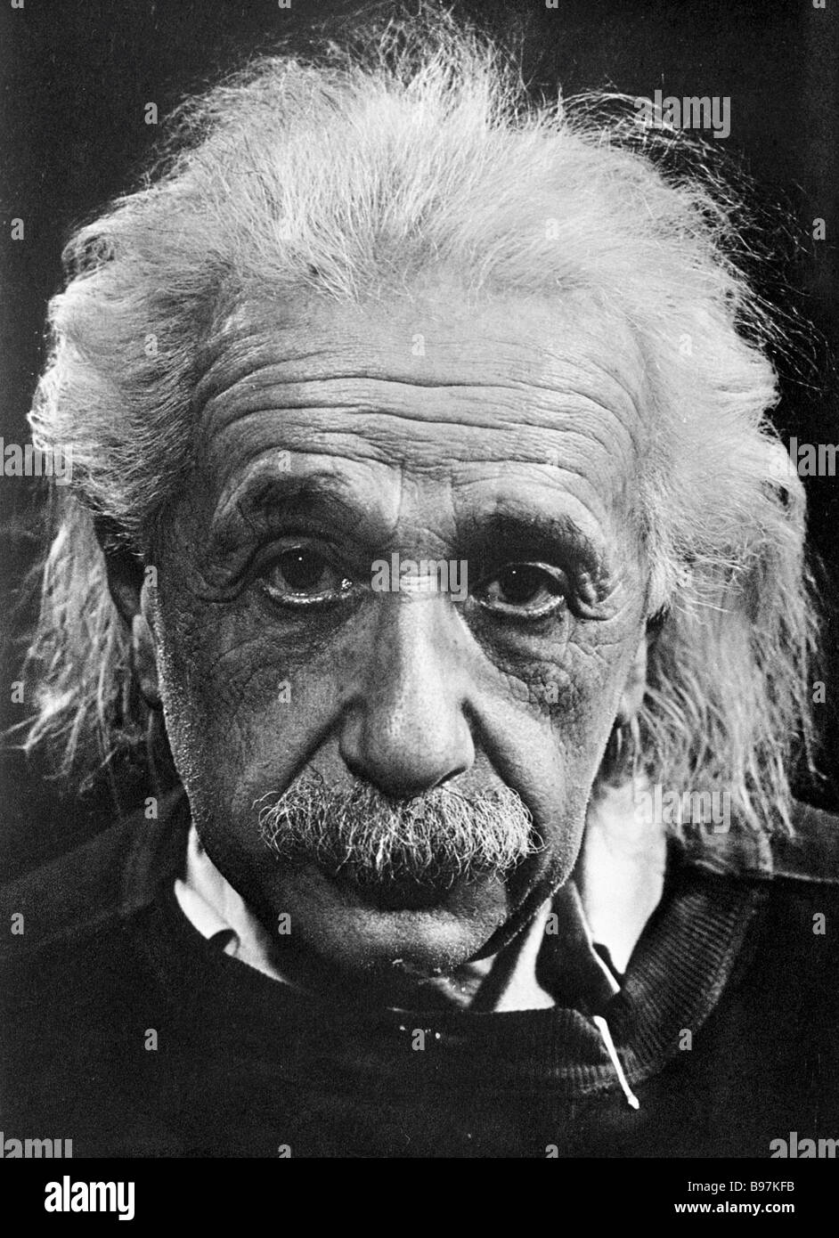 Great mathematician and physicist Albert Einstein author of the theory of relativity - Stock Image