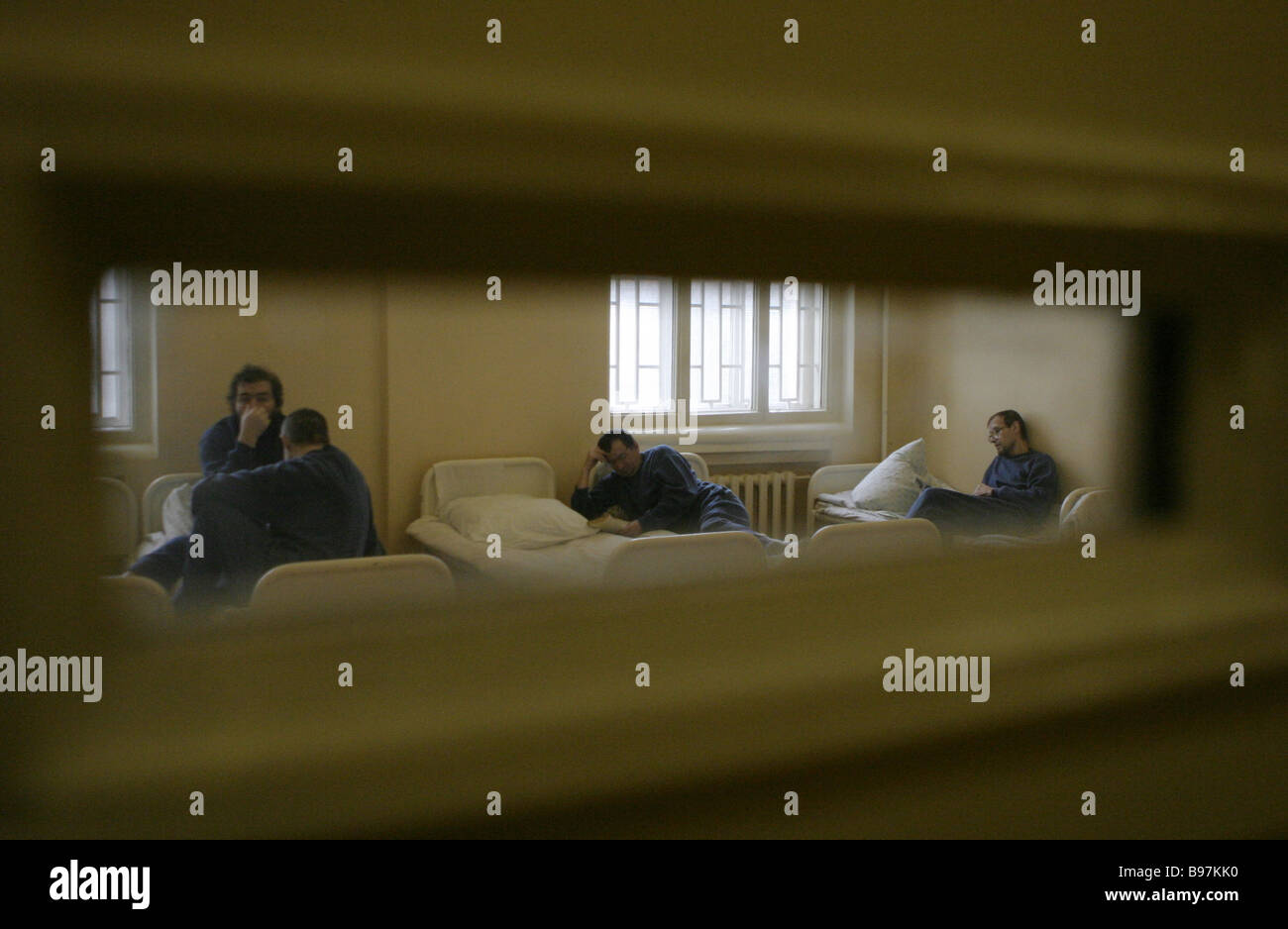 An Observation Ward In The State Scientific Center For Social And Stock Photo Alamy