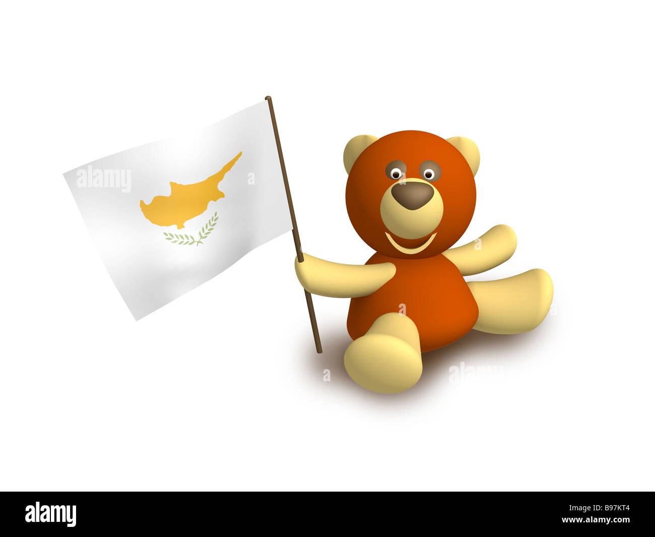 Cyprus flag - Stock Image