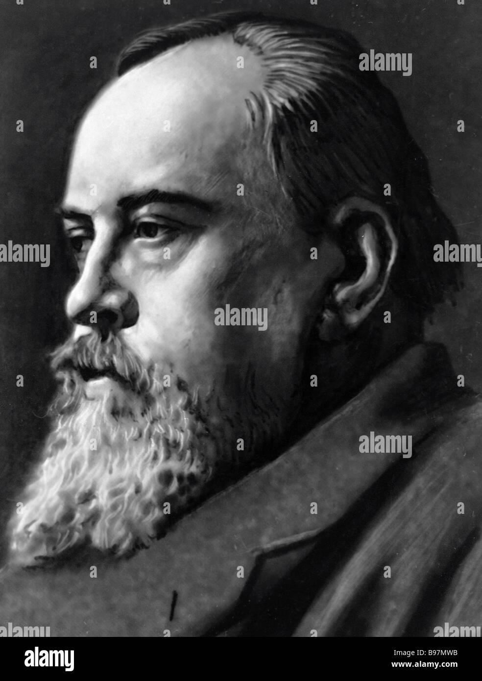 Russian scholar and political figure Maxim Kovalevsky - Stock Image