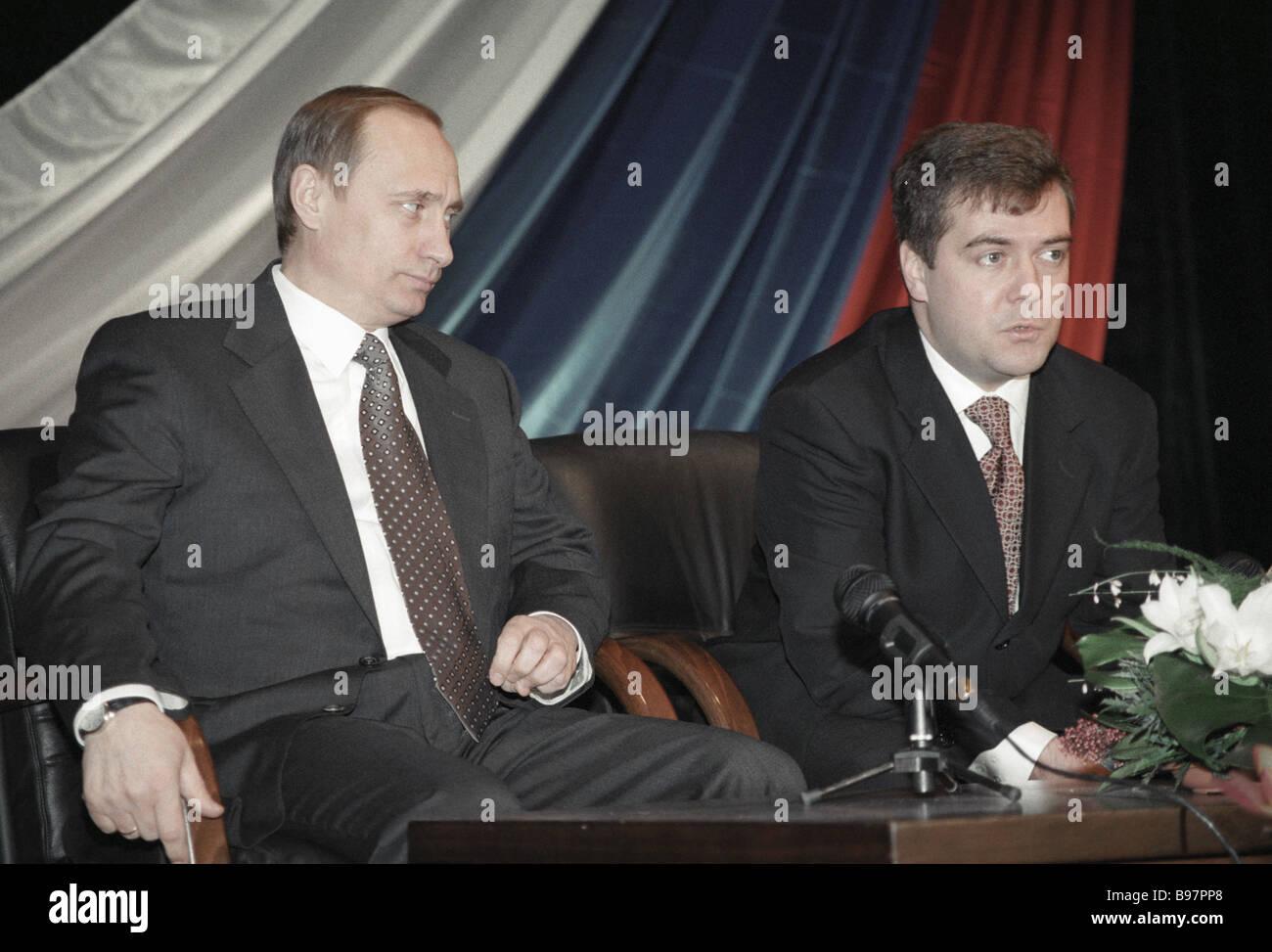 Vladimir Putin 2000 High Resolution Stock Photography And Images Alamy