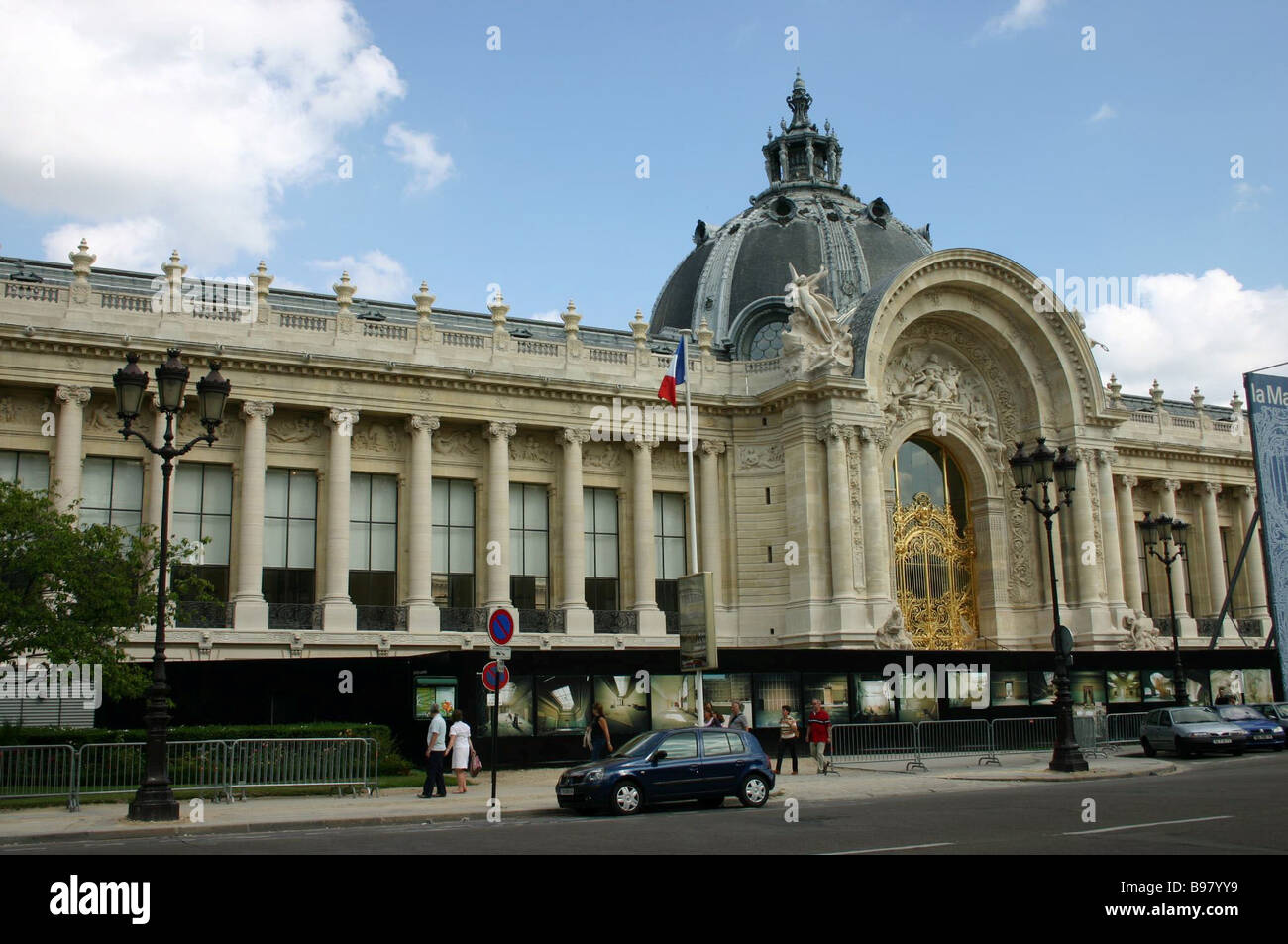 Paris The Musee des Beaux Arts in Rue Winston Churchill The edifice was built as an exhibition pavilion for the - Stock Image