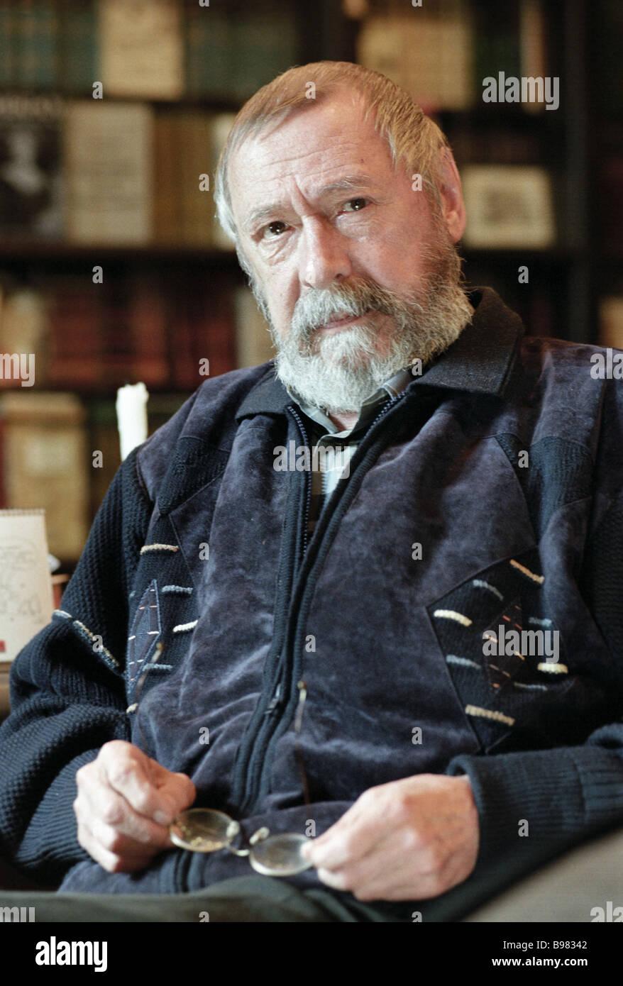 Oleg Yefremov art director of the Chekhov MHAT Theater - Stock Image
