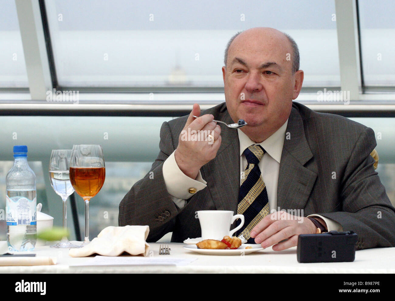 Vladimir Resin Moscow s Vice Mayor in charge of construction - Stock Image