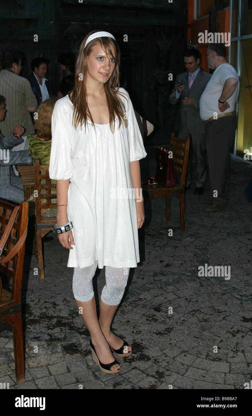 Fashion Designer Kira Plastinina During The Fashion On Screen Evening Stock Photo Alamy