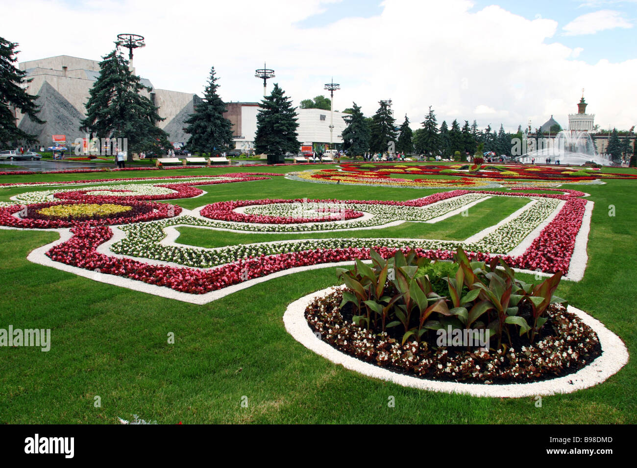 The 3rd Moscow festival of flowerbeds and landscape design dedicated