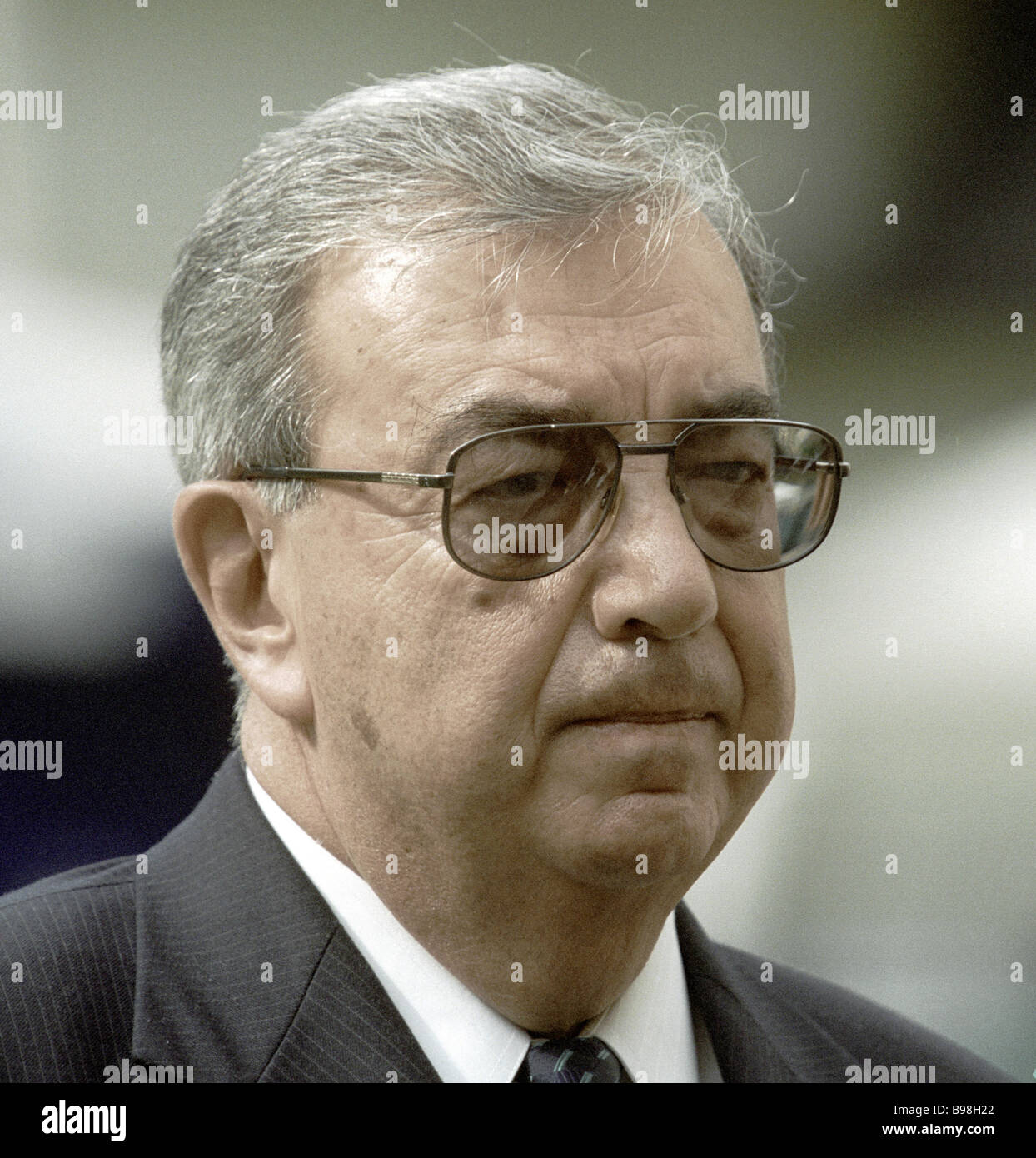 Fatherland All Russia faction leader Yevgeni Primakov - Stock Image